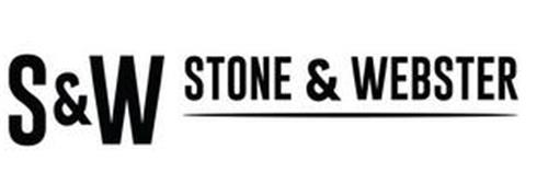 S AND W STONE AND WEBSTER