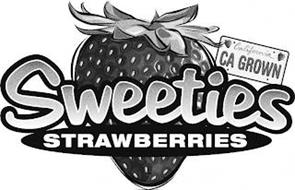 SWEETIES STRAWBERRIES CALIFORNIA CA GROWN