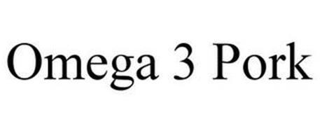 OMEGA 3 PORK