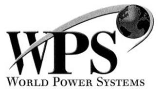 Wps World Power Systems Trademark Of Wetherill Associates Inc Serial Number 77119754 Trademarkia Trademarks