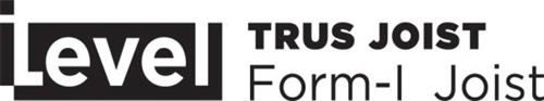 ILEVEL TRUS JOIST FORM-I JOIST