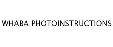 WHABA PHOTOINSTRUCTIONS