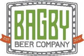 BAGBY BEER COMPANY EST 2014