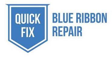 QUICK FIX BLUE RIBBON REPAIR