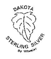 DAKOTA STERLING SILVER BY WHEELER