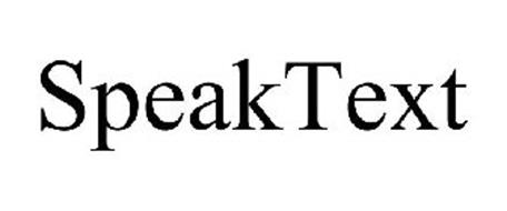 SPEAKTEXT