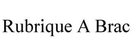 RUBRIQUE A BRAC