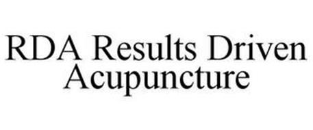 RDA RESULTS DRIVEN ACUPUNCTURE