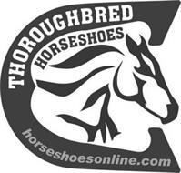 THOROUGHBRED HORSESHOES HORSESHOESONLINE.COM