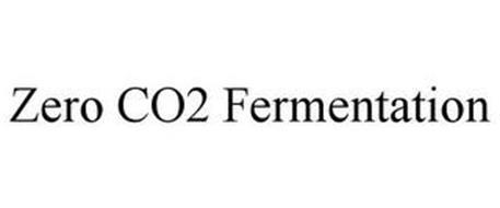 ZERO CO2 FERMENTATION