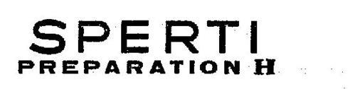 sperti preparation h trademark of whitehall pharmacal