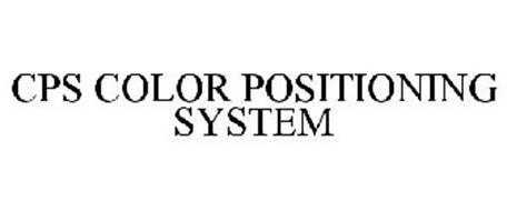 CPS COLOR POSITIONING SYSTEM