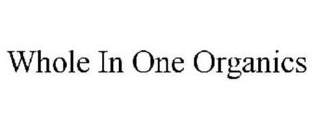 WHOLE IN ONE ORGANICS