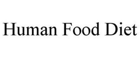 HUMAN FOOD DIET