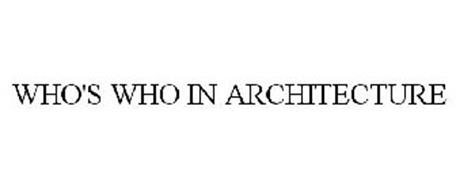 WHO'S WHO IN ARCHITECTURE