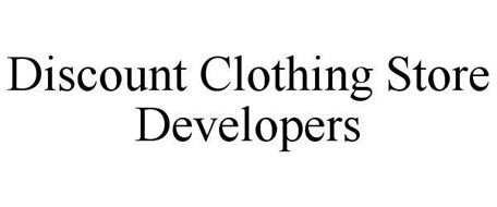 DISCOUNT CLOTHING STORE DEVELOPERS