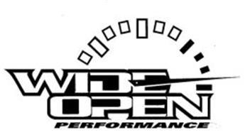 WIDE OPEN PERFORMANCE