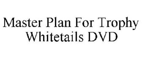 MASTER PLAN FOR TROPHY WHITETAILS DVD