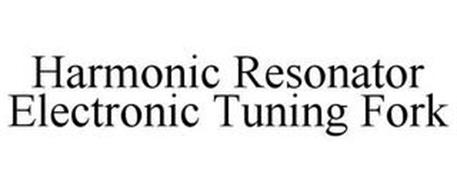 HARMONIC RESONATOR ELECTRONIC TUNING FORK