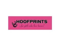 HOOFPRINTS...FOR GIRLS WHO LOVE HORSES!