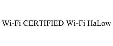 WI-FI CERTIFIED WI-FI HALOW