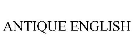 ANTIQUE ENGLISH