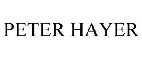 PETER HAYER