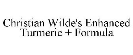 CHRISTIAN WILDE'S ENHANCED TURMERIC + FORMULA