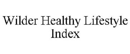 WILDER HEALTHY LIFESTYLE INDEX