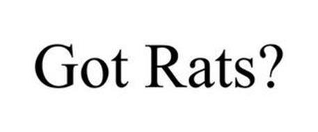 GOT RATS?