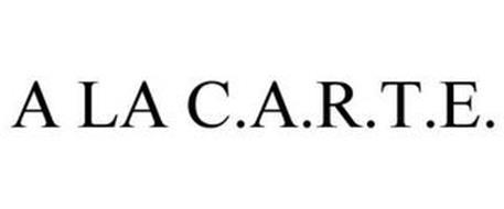 A LA C.A.R.T.E.