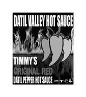 DATIL VALLEY HOT SAUCE TIMMY'S ORIGINAL RED DATIL PEPPER HOT SAUCE