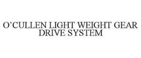 O'CULLEN LIGHT WEIGHT GEAR DRIVE SYSTEM