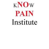 KNOW PAIN INSTITUTE