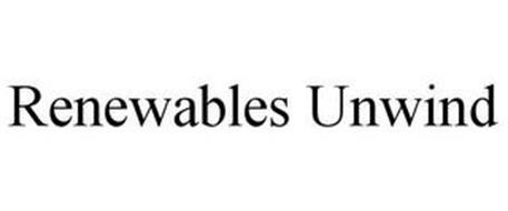 RENEWABLES UNWIND