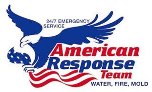 24/7 EMERGENCY SERVICE AMERICAN RESPONSE TEAM WATER, FIRE, MOLD