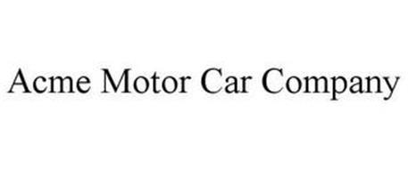 ACME MOTOR CAR COMPANY