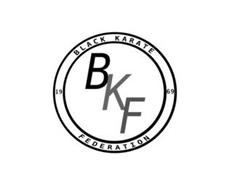 BKF BLACK KARATE FEDERATION 19 69