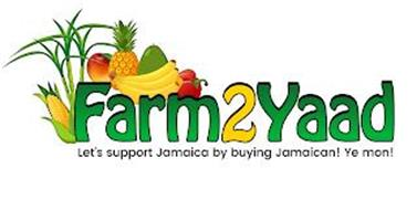 FARM2YAAD LET'S SUPPORT JAMAICA BY BUYING JAMAICAN! YE MON!