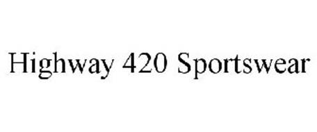 HIGHWAY 420 SPORTSWEAR