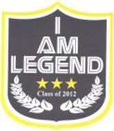 I AM LEGEND CLASS OF 2012