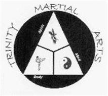 Trinity Martial Arts Spirit Mind Body Trademark Of Williams
