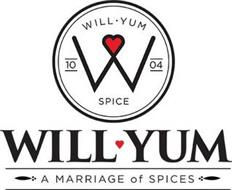 WILL YUM SPICE, 10 04 A MARRIAGE OF SPICE