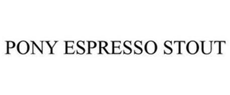 PONY ESPRESSO STOUT