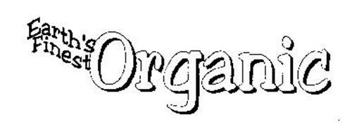 EARTH'S FINEST ORGANIC