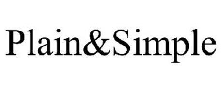 PLAIN&SIMPLE
