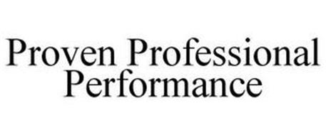 PROVEN PROFESSIONAL PERFORMANCE