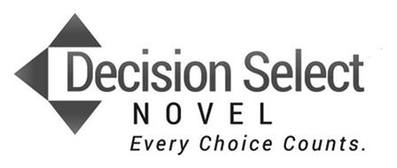 DECISION SELECT NOVEL EVERY CHOICE COUNTS.