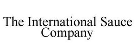 THE INTERNATIONAL SAUCE COMPANY