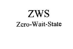 ZWS/ZERO-WAIT-STATE